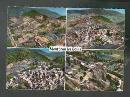 CP (26) En Avion Au Dessus De ... Montbrun-les-Bains - Multi-vues - France