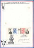 FRANCE - CARTE ILE DE SEIN OBLITERATION ILE DE SEIN FINISTERE 9.11.71 - Guerre Mondiale (Seconde)