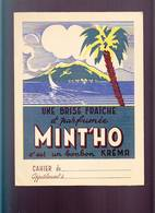 Ecole / Protege Cahier / Bonbon Kréma Mint'Ho, Brise Parfumée / Oiseaux - Buvards, Protège-cahiers Illustrés