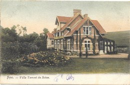Spa NA89: Villa Torrent Du Scéau 1906 - Spa