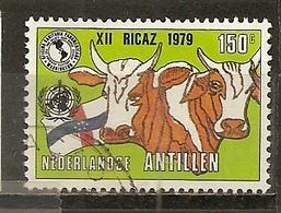 Antilles Neerlandaises Netherlands Antilles 1979 Cows Vaches Obl - Curazao, Antillas Holandesas, Aruba