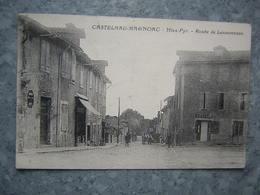 CASTELNAU MAGNOAC - ROUTE DE LANNEMEZAN - Castelnau Magnoac