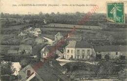 53.  SAINT MARTIN DE CONNEE .  Orthe Et La Chapelle Du Chêne . - France