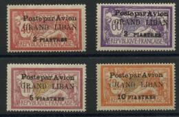 Grand Liban (1924) PA N 1 A 4 (charniere) - Luftpost