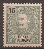 Ponta Delgada, 1898/905, # 27, MH - Ponta Delgada