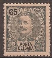 Ponta Delgada, 1898/905, # 30, Papel Amarelado, MNG - Ponta Delgada