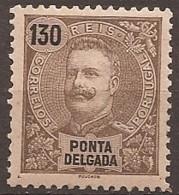 Ponta Delgada, 1898/905, # 33, MNG - Ponta Delgada