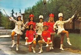 Cartolina Carrù Le Majorettes 1983 - Cuneo