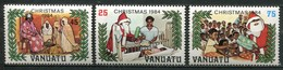 Vanuatu Mi# 686-8 Postfrisch MNH - Christmas - Vanuatu (1980-...)