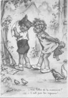 Germaine Bouret Enfants Lettre Poupée Poules - Altre Illustrazioni