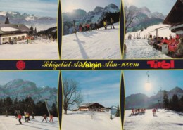 Schigebiet Aschinger Alm 1000m Im Zahmen Kaiser - Autriche