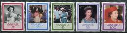 Vanuatu Mi# 720-4 Postfrisch MNH - QEII - Vanuatu (1980-...)