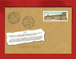 ITALIA ITALY REPUBBLICA 2013 Intero Postale Ufficio Postale ROMA QUIRINALE ** - 6. 1946-.. Repubblica