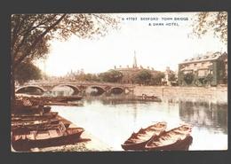 Bedford - Town Bridge & Swan Hotel - Bedford