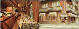 """Carte Visite. Knokke. Restaurant """"Le Frison"""", Avenue Dumortier. - Cartes De Visite"""