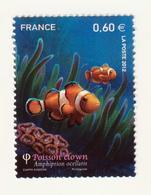 """TIMBRE -  2012  - Série Nature ,Faune Marine  -  N°  4646   -  """"Poisson Clown  """"    Neuf Sans Charnière - Frankreich"""