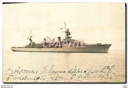 CPA Bateau Croiseur Jeanne D&#39Arc - Warships