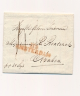 Nederland - 1811 - Departement Stempel 118/AMSTERDAM Op Complete Vouwbrief Naar Arnhem - Netherlands