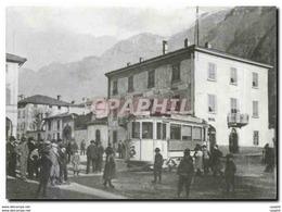 CPM Stuendlich Fuhr Die TEM Bis Riva San Vitale: Viele Abholer Warten Auf Die Fahrgaeste - Treni