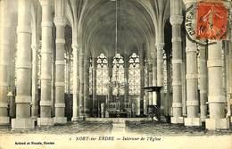 CPA - France - (44) Loire Atlantique - Nort Sur Erdre - Interieur De L'Eglise - Nort Sur Erdre