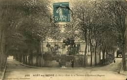CPA - France - (44) Loire Atlantique - Nort Sur Erdre - Café De La Terrasse Et Boulevard Magenta - Nort Sur Erdre