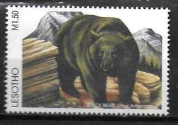 LESOTHO  N° 1257   * *  Ours - Bears