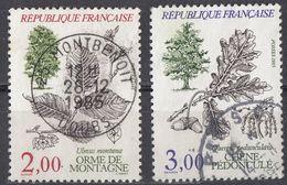 FRANCE - 1985 - Lotto Di 2 Valori Usati: Yvert 2285/2286. - Frankreich