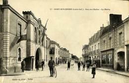 CPA - France - (44) Loire Atlantique - Nort Sur Erdre - Rue Des Halles - La Mairie - Nort Sur Erdre