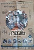 Affiche Les Enfants De La Résistance DUGOMIER Vincent Et ERS Benoit Le Lombard 2020 - Affiches & Offsets