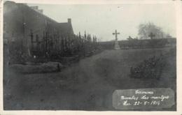 Photo Carte De Tamines Tombes Des Martyrs Du 22-08-1914 Circulée En 1926 - Sambreville