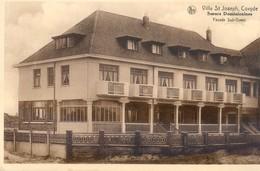 De Panne - Villa St Joseph, Coxyde - Soeurs Dominicaines - Facade Sud Ouest - De Panne