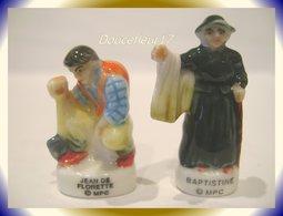 Pagnol ...2 Fèves ... Baptistine Et Jean De Florette ... Ref. AFF :  (pan005) - Personnages