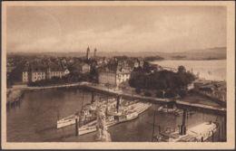AK Lindau Blick Vom Leuchtturm Michel. Nr. 250, Gelaufen 1923 - Lindau A. Bodensee