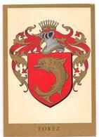 Blasons - Heraldisme -  Forez -  Carte Double -  CPM ° - Autres Communes