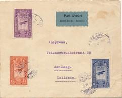 J71 - Marcophilie - Lettre Par Avion Ethiopie Vers Pays Bas - Début Du Règne Du Négusse Haile Sélassié Ier - 1931 - Äthiopien