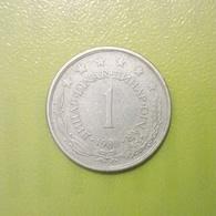 1 Dinar Münze Aus Jugoslawien Von 1980 (sehr Schön) - Yugoslavia