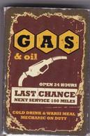 Boîte D'Allumettes FLAM UP  - GAS & Oil - Boites D'allumettes