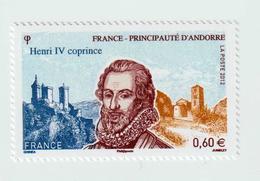 """TIMBRE -  2012  - Henry IV , Roi De Navarre Et De France  -  N°  4698  - """" Portrait D' HenrI IV""""     Neuf Sans Charnière - Frankreich"""
