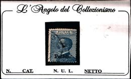 93535) ITALIA-25C. Emissioni Ordinarie Soprastampate Pechino - 1917 -UN PEZZO-USATO - 11. Foreign Offices