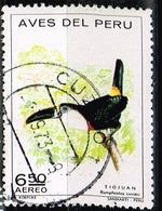 Peru 1972,Michel# 865 O Cuvier's Toucan (Ramphastos Cuvieri) - Birds