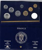 Coffret FDC De 1981 En état NEUF...sans La 10 Francs MATHIEU - Z. FDC