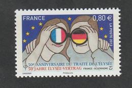 """TIMBRE -  2013  -  Cinquantenaire Du Traité De L' Elysée  -   4711  -     """" Couple Regardant """"     Neuf Sans Charnière - Unused Stamps"""
