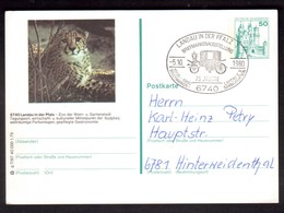 IZ618   BRD Bildpostkarte - P 129 G 7/97 - Gebraucht - Landau In Der Pfalz, Zoo - [7] Federal Republic