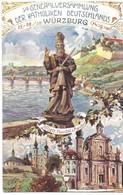 Wurzburg Generalversammlung Der Katholiken Deutschlands In Wurzburg 1907 - Wuerzburg