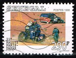 Senegal 1999,Michel# 1599 O 21st Paris-Dakar Rally - Senegal (1960-...)