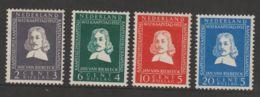 Nederland 1952  NVPH Nr. 587-581   MH  Van Riebeeck - Nuevos