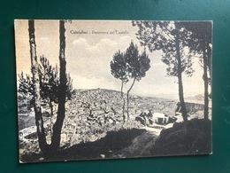 CALATAFIMI (TRAPANI)  PANORAMA DAL CASTELLO  1957 - Trapani
