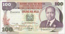 TWN - KENYA 23a - 100 Shillings 1.6.1980 Prefix D/1 UNC - Kenia