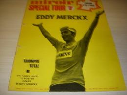 MIROIR SPRINT 1255 21.07.1970 TdF Etape 20-22 1er MERCKX FOOTBALL CAGLIARI RIVA - Deportes