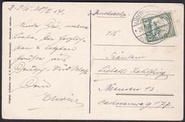 Wlk_ Deutsches Reich Deutsch Südwestafrika Lüderitzbucht - Mi.Nr. 25 - Ansichtskarte 1914 Nach Bremen - Colony: German South West Africa